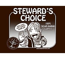 Steward's Choice Coffee Photographic Print