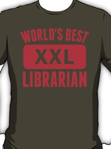 World's Best Librarian T-Shirt