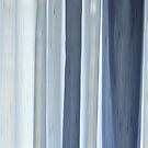 abstract in blue by Laurie Minor