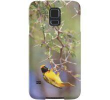 Southern Masked Weaver - Acrobatic Fun Samsung Galaxy Case/Skin