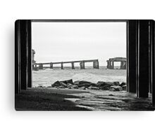 Under and Through Canvas Print