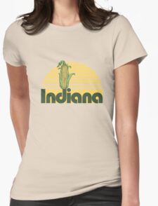 Indiana Corn Womens Fitted T-Shirt