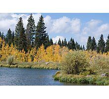 View of Jumbo Lake Photographic Print