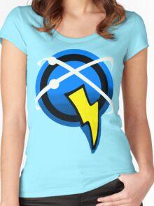 Captain Qwark Symbol  Women's Fitted Scoop T-Shirt