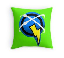 Captain Qwark Symbol  Throw Pillow