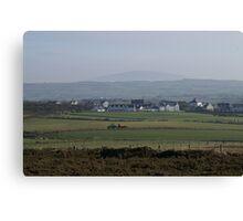 Northern Ireland Sheep Farm Canvas Print