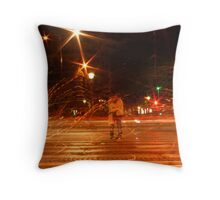Sparks fly when Ghosts Kiss Throw Pillow