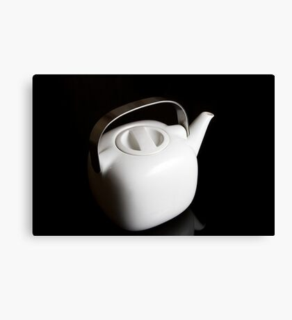 Modern teapot Canvas Print