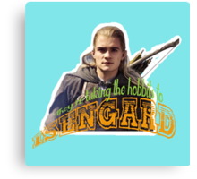 To Isengard! Canvas Print