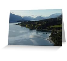 From Bennets Bluff to Glenorchy  Greeting Card