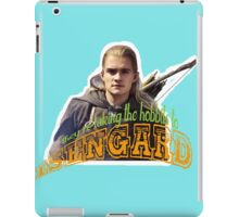 To Isengard! iPad Case/Skin