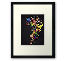Beautiful Rising Framed Print