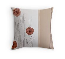 Dried Poppies Throw Pillow