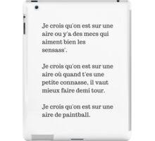 Hero corp iPad Case/Skin