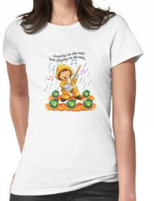 Singing in the Rain Womens Fitted T-Shirt