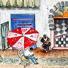 Essaouira Street Scene by Goodaboom