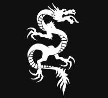 dragon tribal white by amnesiac