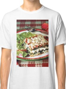 Lasagna Dinner Classic T-Shirt