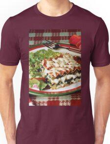 Lasagna Dinner Unisex T-Shirt