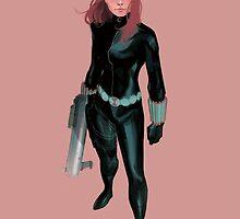 The Black Widow by jamesgb