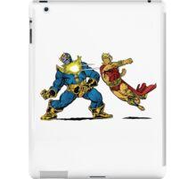 Thanos vs Adam Warlock iPad Case/Skin