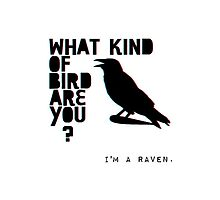 I'm A Raven. by kittenblaine
