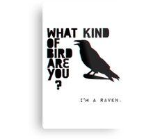 I'm A Raven. Metal Print