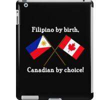 Canadian by Choice iPad Case/Skin