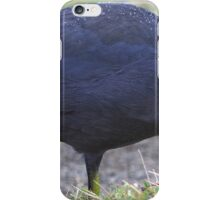 Blue Coot With Frozen Bubbles iPhone Case/Skin