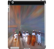 Drummers in a Dream Poster iPad Case/Skin