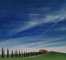 Tuscany - 1 by Luigi Scuderi