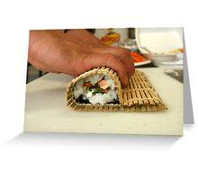 Making Sushi Greeting Card