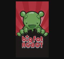 Big Fat Robot eats Melbourne - red with logo by BigFatRobot