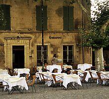 French Café by Alison Cornford-Matheson
