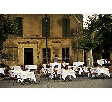 French Café Photographic Print
