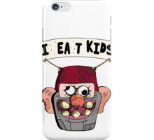 I (H)ea(r)t Kids! Grunkle Stan Balloon - Gravity Falls iPhone Case/Skin