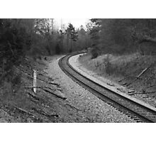 Which Way to Terminus? 2 B&W Photographic Print