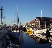 Constitution Dock - Tasmania by Greg Halliday
