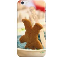Someone got the Ginger Bread Man iPhone Case/Skin