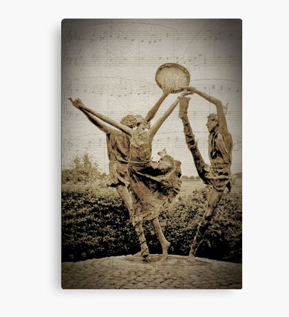 Dance to the Sound of Music Canvas Print