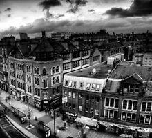 London Road, Manchester by Justin Fletcher