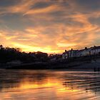 Amroth Sunset by griffin