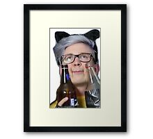 intoxicated tyler Framed Print