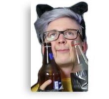 intoxicated tyler Canvas Print