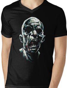 Brraaaiiinnss Mens V-Neck T-Shirt