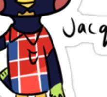 jacques Sticker