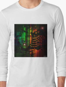 """"""" In the black, all the colors agree. """" Long Sleeve T-Shirt"""