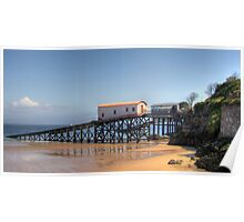 Tenby Lifeboat Houses Poster