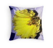 The Daffodil Throw Pillow
