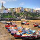 Tenby Harbour by griffin